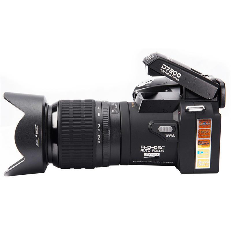HAOYUNJIA Máy ảnh kỹ thuật số độ phân giải cao 2018 mới camera tự động lấy nét quang học camera thôn