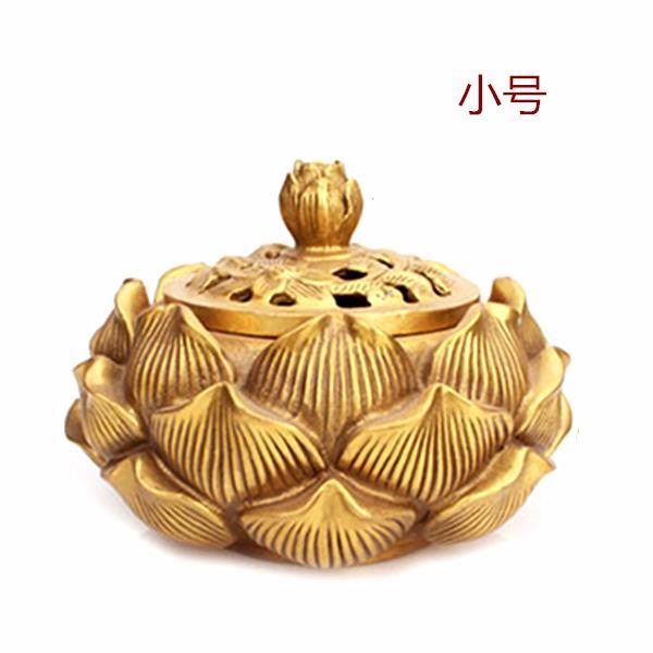 Lư hương Đồ trang trí đồng Liên Hoa lư hương / hun khói lò / đĩa đặng thờ lạy Ðức Chúa trời ở nhà th