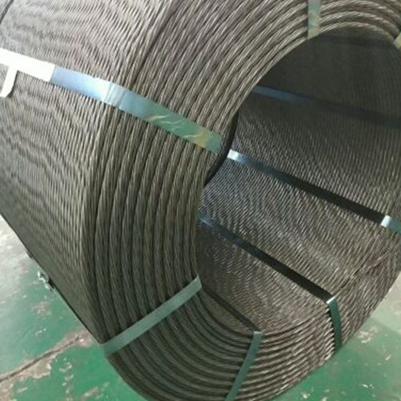 JINSHUNDE Dây cáp Sợi thép nhiều loại dự ứng lực Thép chống ăn mòn sợi thép khai thác Sợi thép tùy c