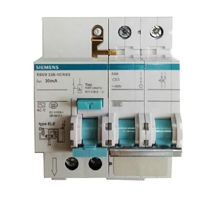 Công tắc bảo vệ rò rỉ của Siemens mở 2P 63A