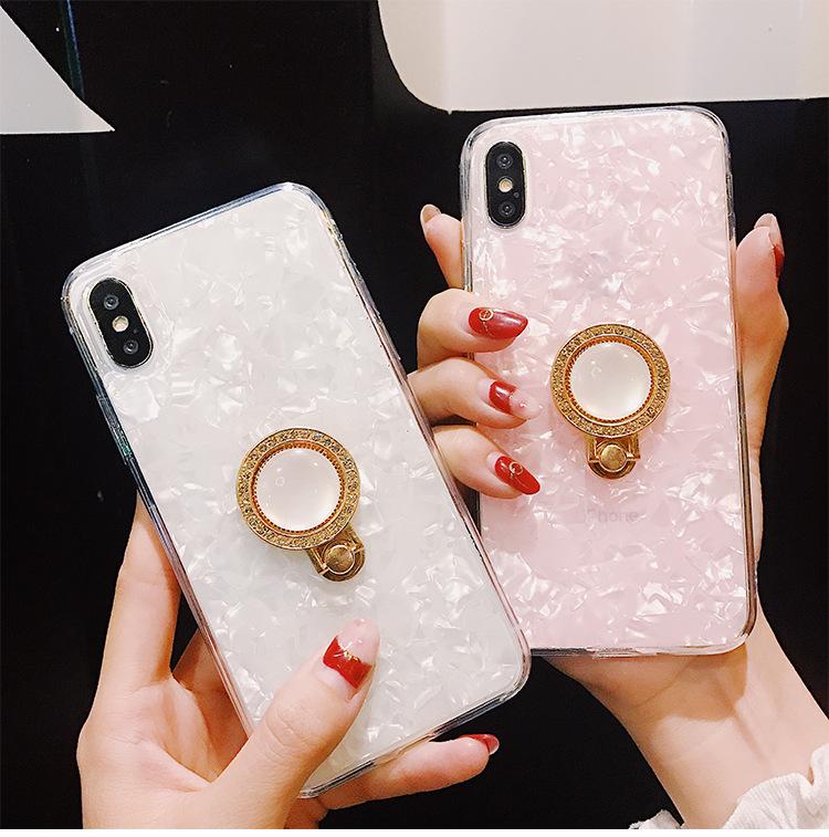 iphone   Thị trường phụ kiện di động  Áp dụng đơn giản. nhẫn vào khung vỏ điện thoại iPhoneXsMax táo