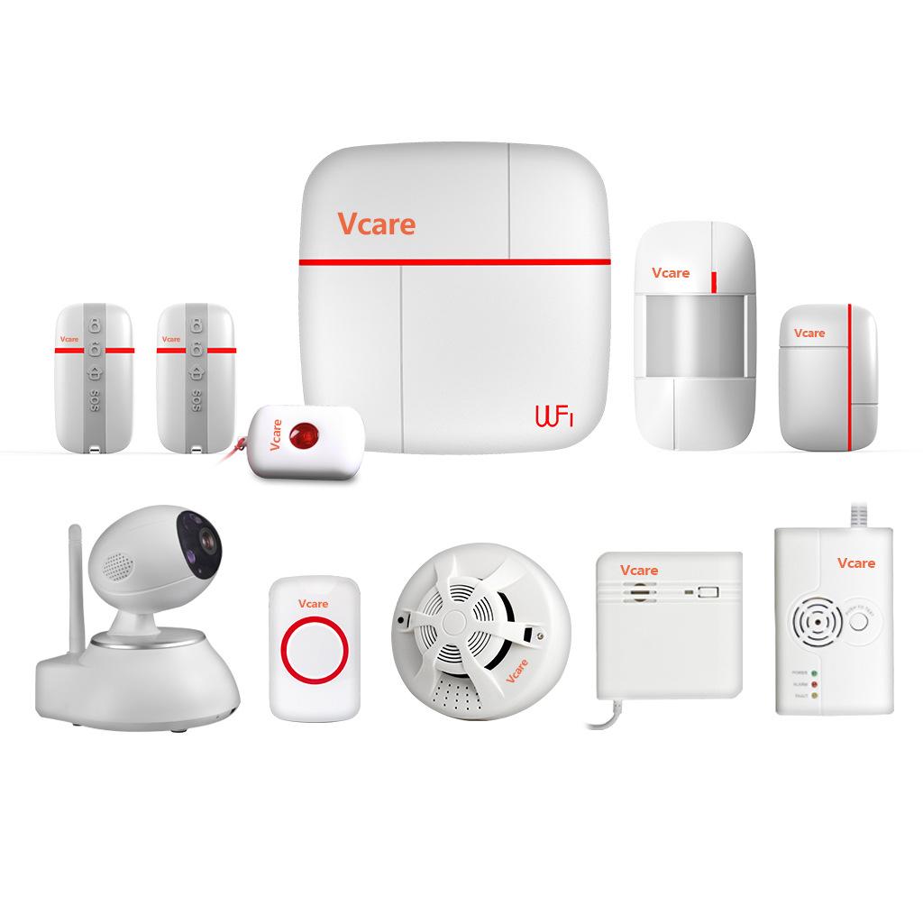 Camera giám sát Tuần tra hệ thống báo động an ninh thông minh WiFi