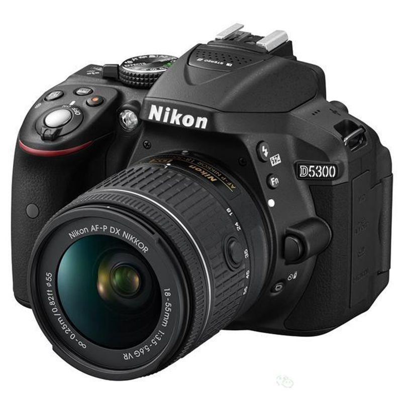 Nikon Máy ảnh phản xạ ống kính đơn / Máy ảnh SLR / Nikon D5300 18-55VR máy ảnh độ nét cao trình độ c