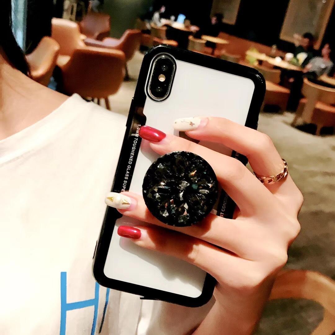 iphone   Thị trường phụ kiện di động  run âm khung áp dụng Apple 7plus/8 điện thoại vỏ bảo vệ bộ tro