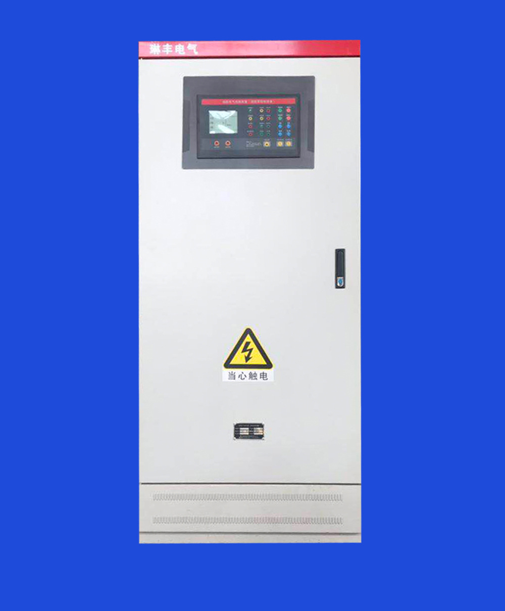 LINFENG tủ điện Chứng nhận 3CF 30KW chữa cháy tự động kiểm soát tủ điều khiển điện áp thấp hoàn thàn