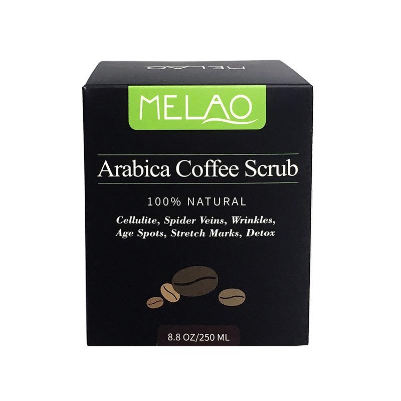 MELAO Kem tẩy tế bào chết Cà phê xuyên biên giới mài mặt tẩy tế bào chết toàn thân