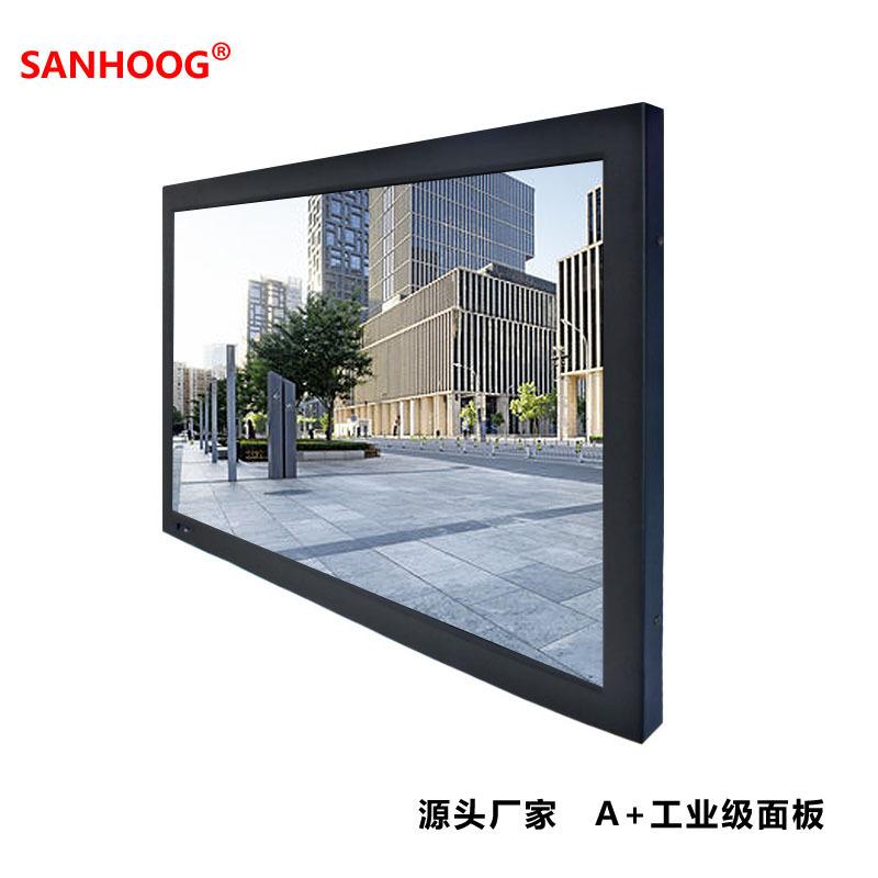 SHSJ Thiết bị giám sát Đèn nền LED 32 inch Màn hình LCD gốc công nghiệp bảng điều khiển màn hình nối