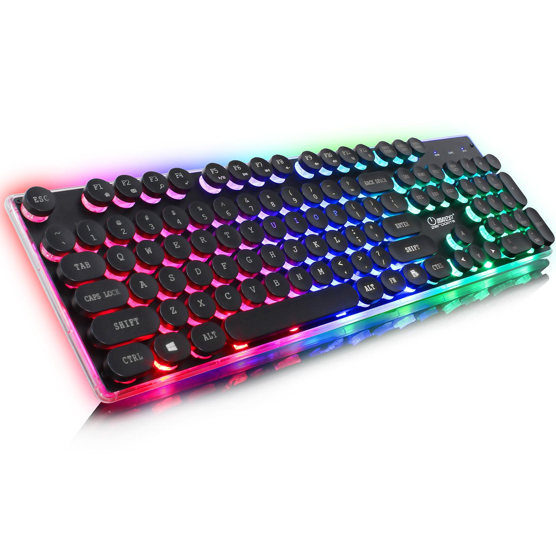 LDZY - Bàn phím để bàn có đèn nhiều màu