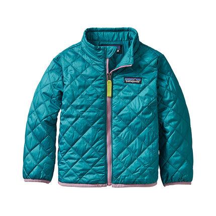Áo khoác trẻ em  Patagonia PATAGONIA Patagonia Baby Nano Puff Jkt Quần áo cotton ấm áp và thoải mái