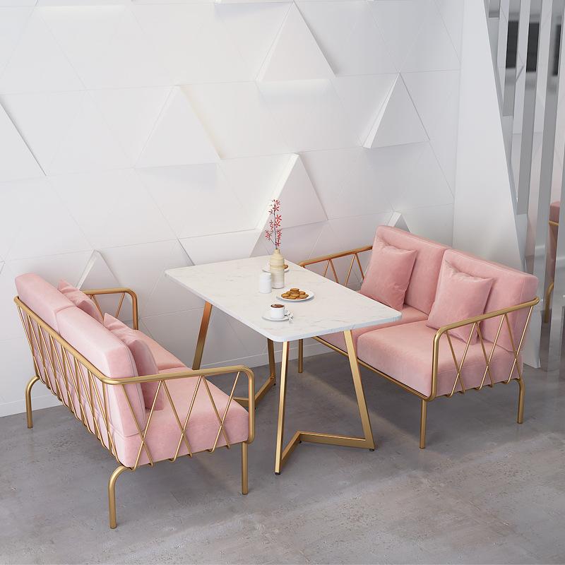 Thị trường nội thất : Bộ bàn ghế sofa thiết kế đơn giản và hiện đại .