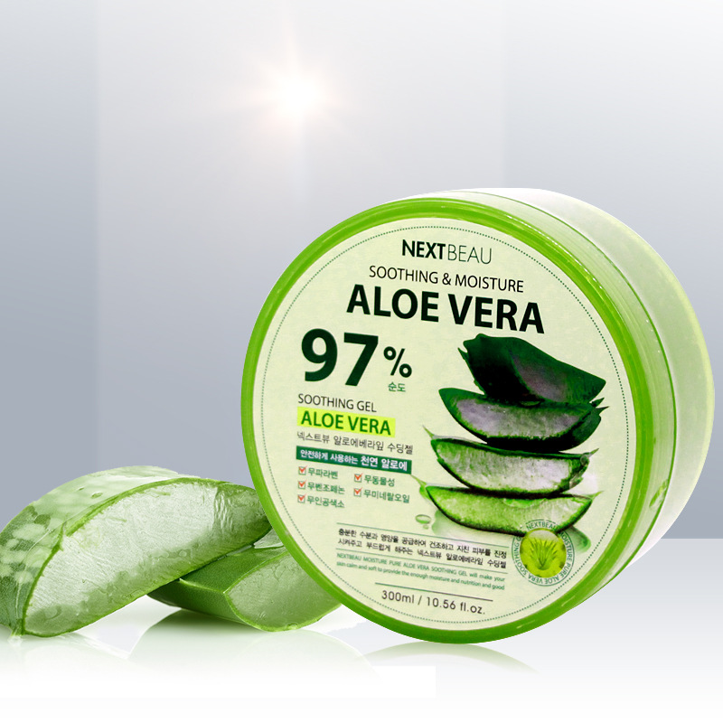 NEXTBEAU Mủ nha đam Hàn Quốc nhập khẩu Yu Shangmei 97% gel lô hội giữ ẩm tự nhiên dưới ánh nắng mặt