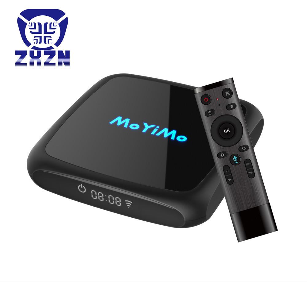 ZHONGXING Thiết bị kết nối Internet cho TV Trình phát mạng độ phân giải cao thông minh S905W Điều kh
