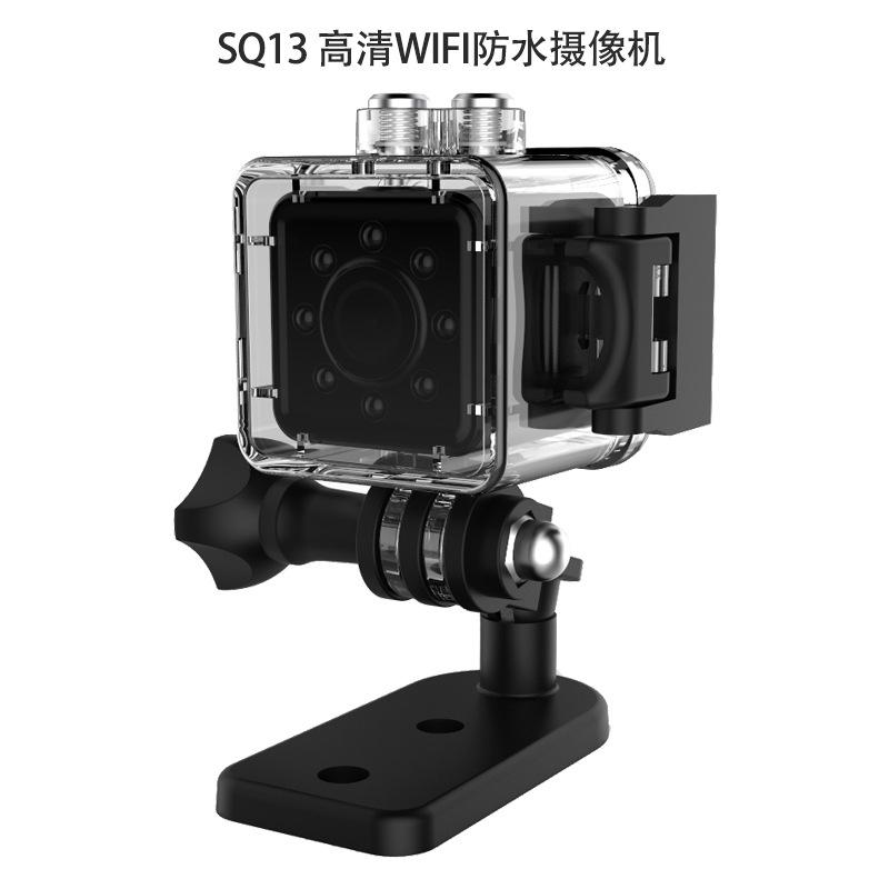YOOCHEESE Máy ảnh thể thao Máy ảnh chụp đêm hồng ngoại SQ13WIFI lặn HD 1080P camera hồng ngoại ban đ