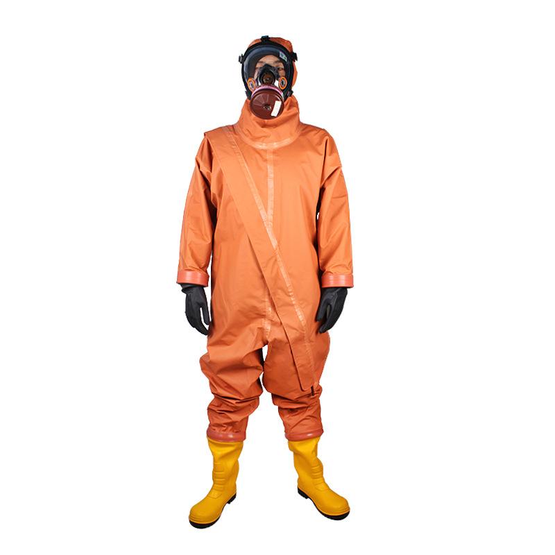 Aofeng Trang phục bảo hộ FH-WPA chất chống cháy hai mặt bọc nhựa PVC nhẹ chống cháy 2 lớp hóa chất v