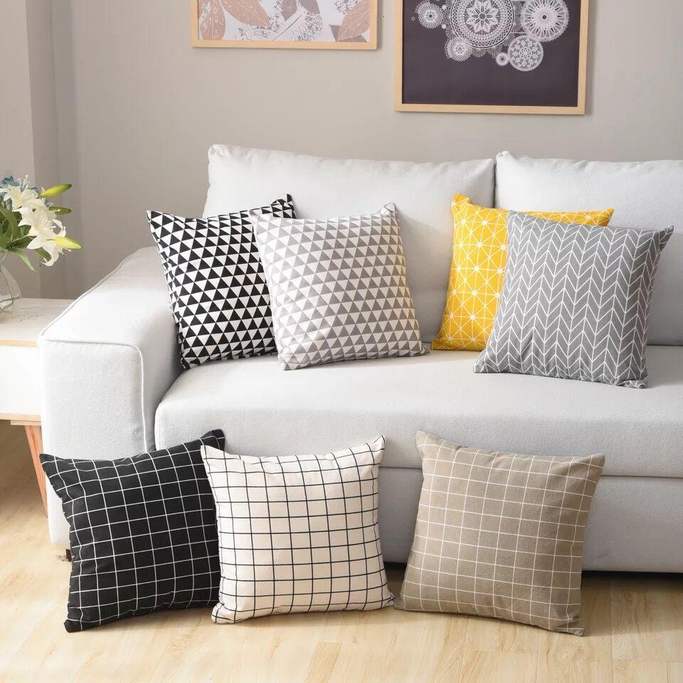 Gối ôm tựa lưng ghế sofa với Thiết kế Đơn giản và hiện đại .