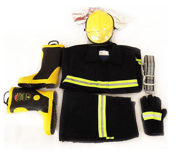 TIANYI Trang phục chống cháy 02 quần áo lính cứu hỏa quần áo bảo vệ chống cháy năm mảnh 2014 dịch vụ