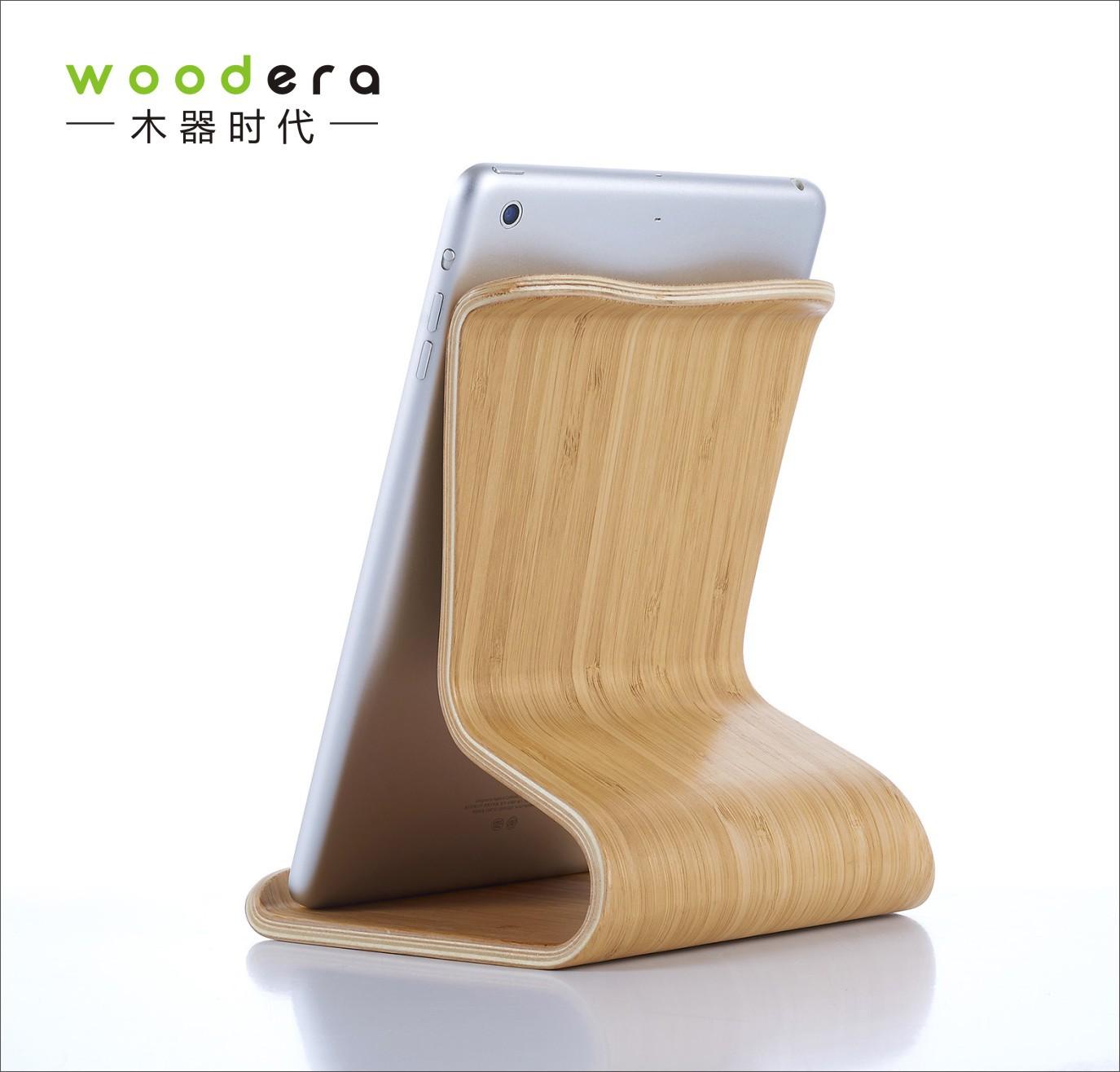 Wood era - Phụ kiện chống lưng máy tính bảng bằng gỗ