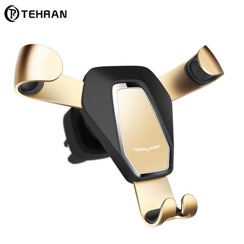 TEHRAN phụ kiện chống lưng điện thoại Mới được cấp bằng sáng chế xe giữ điện thoại kim loại đa chức