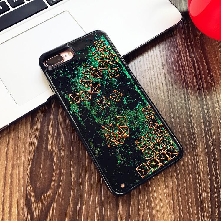 iphone   Thị trường phụ kiện di động  Chất lỏng điện thoại vỏ táo cát lún 7plus vỏ mềm bên iphoneX s