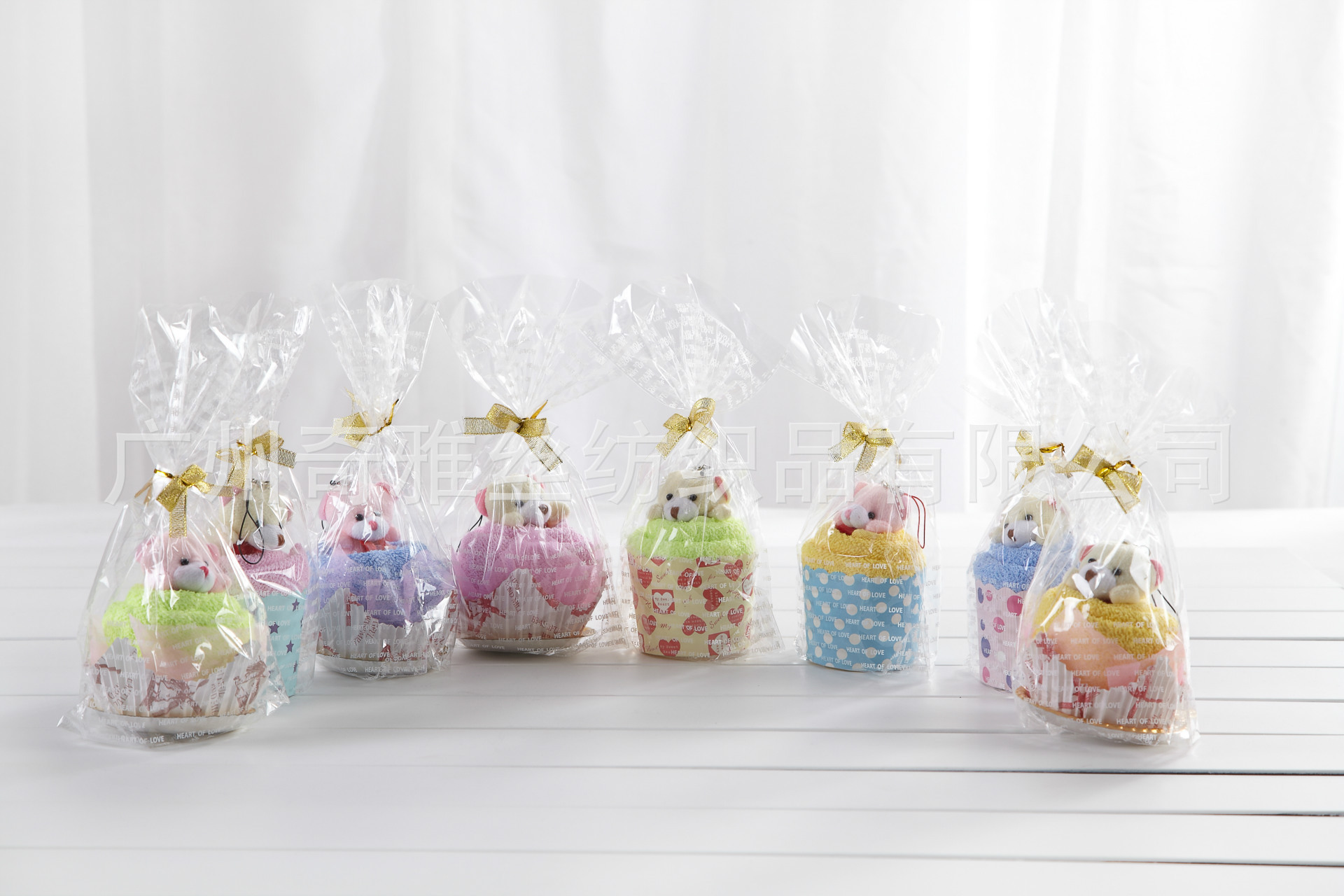 QIYASI Khăn bánh kem Nhà máy trực tiếp khăn bánh tùy chỉnh bông cửa hàng quà tặng khăn nén Tùy chỉnh