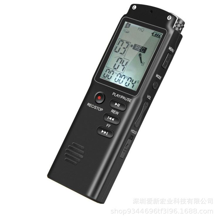 Máy ghi âm Bán hàng trực tiếp Bút ghi âm chuyên nghiệp T60 HD Giảm tiếng ồn MP3 ghi âm kỹ thuật số m