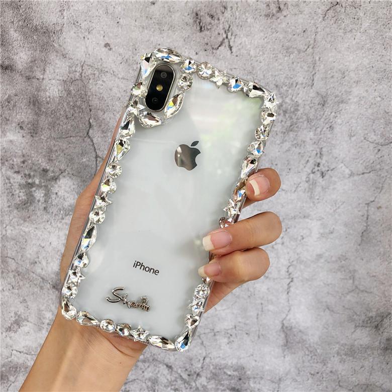 iphone   Thị trường phụ kiện di động  Sự xa xỉ áp dụng XS vỏ điện thoại Max biên tập nữ 8plus5.5 tro