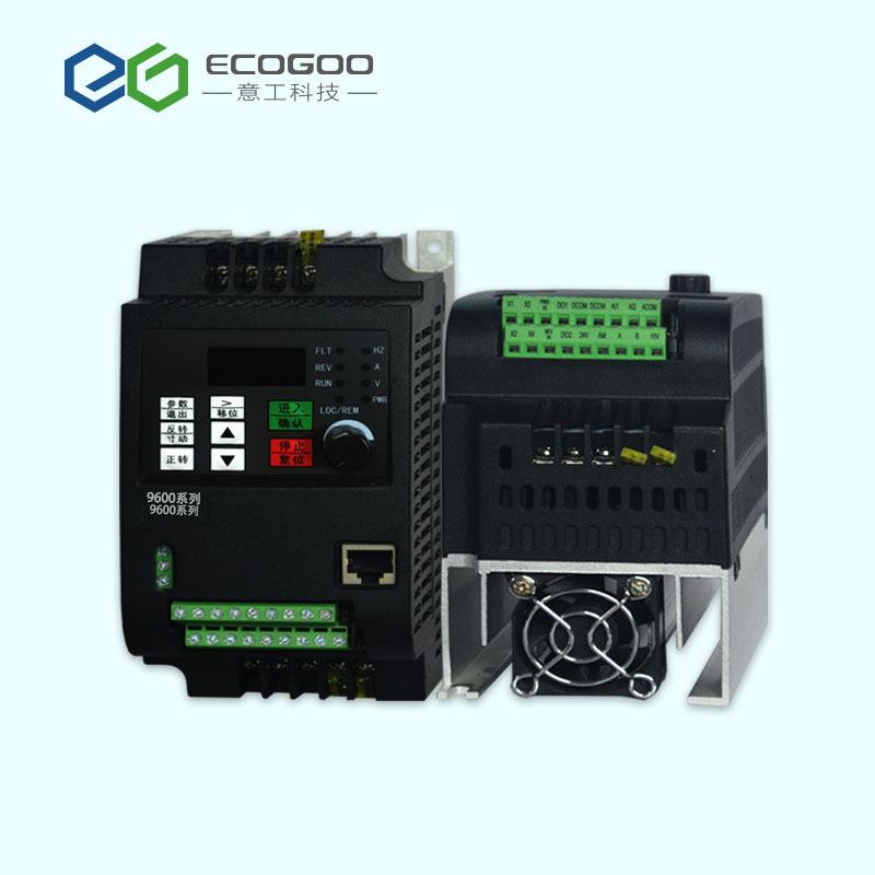 YIGONG Thiết bị biến tần 0,75kw một pha 220v biến tần hiệu suất cao động cơ điều chỉnh tốc độ cao nh