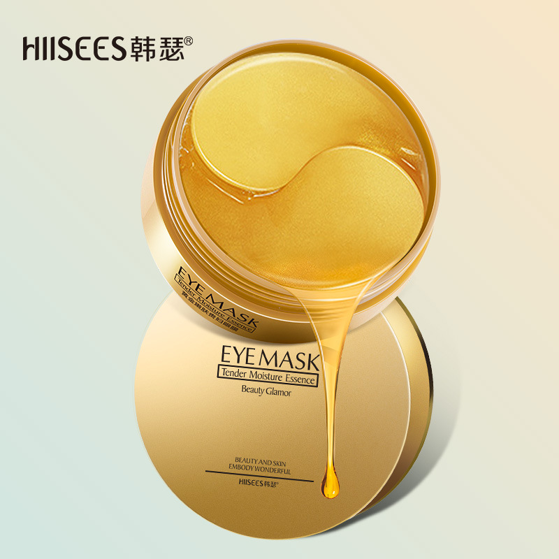 Hanser Mặt nạ mắt New Gold Rejuvenation Lady Eye Mask Moisturising Hydrating Firming Skin Renewal Ey