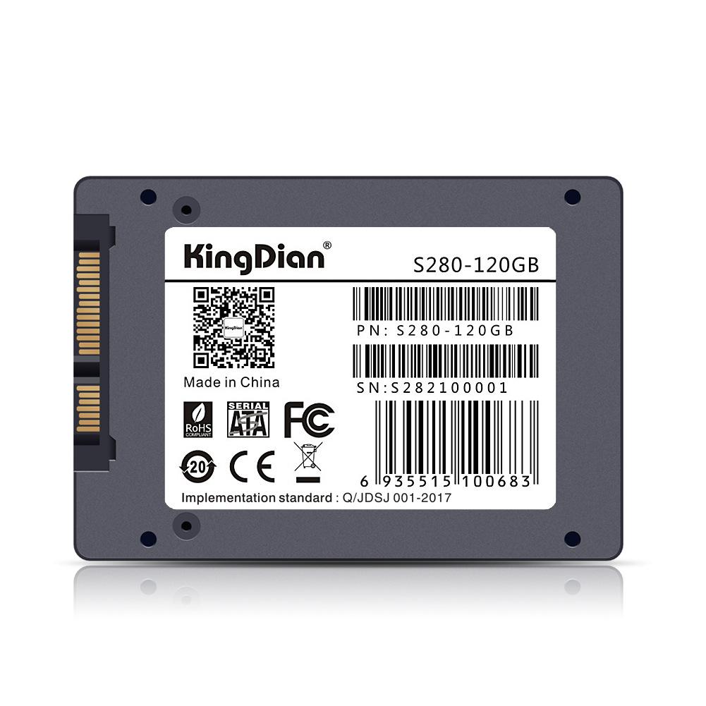 KINGDIAN Ổ cứng SSD tốc độ cao SATA3 - S280-120GB