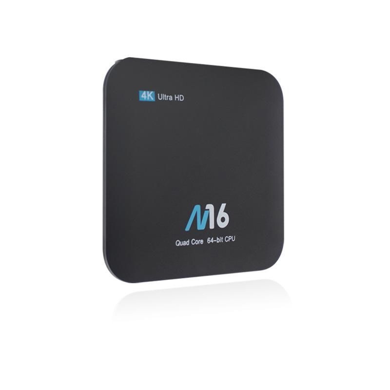 ZHONGXING Thiết bị kết nối Internet cho TV Hộp set-top mạng M16 Trình phát mạng 1G / 8G S905X Androi