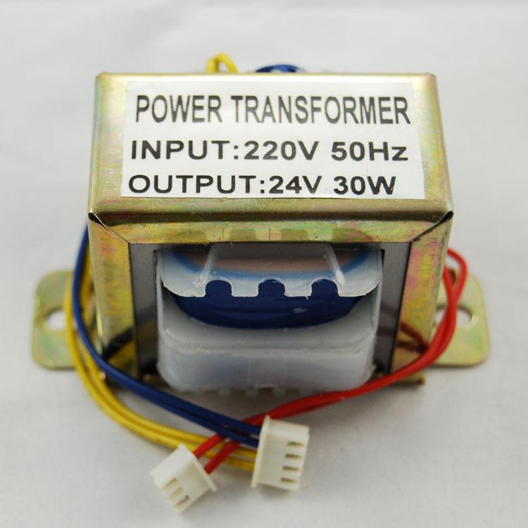 HONGZHAN Bình điều áp Máy biến áp tần số thấp đặc biệt 3V 9V 18V 30V 90V 110 V 30W