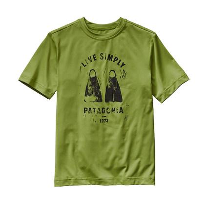 Áo Thun cotton dễ thương dành cho pé Trai , Thương hiệu: Patagonia .
