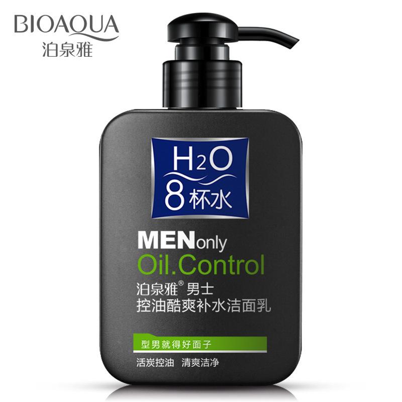 BIOAOUA Sữa rửa mặt Boquan Ya nam kiểm soát dầu để làm sạch mụn đầu đen làm sạch sâu chăm sóc da mặt