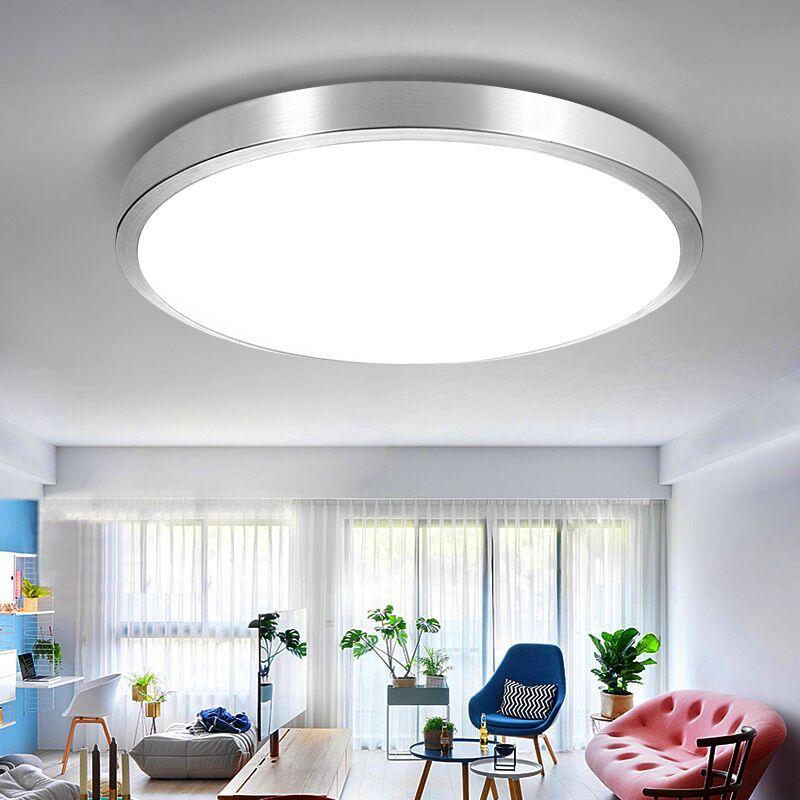 Đèn Led Ốp Trần trang trí theo Phong cách hiện đại tối giản ấm áp .