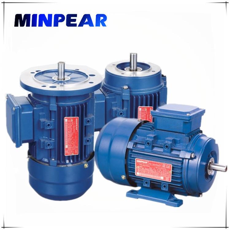 MINPEAR Mô-tơ điện / Động cơ điện vỏ nhôm YS7124 Động cơ ba pha 0.37KW