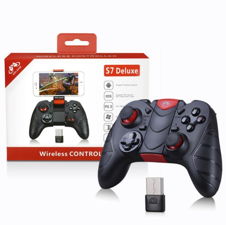 GEN GAME Tay cầm chơi game Mới GENGAME tron bơi S7 Deluxe Edition hỗ trợ Bluetooth không dây, trò ch