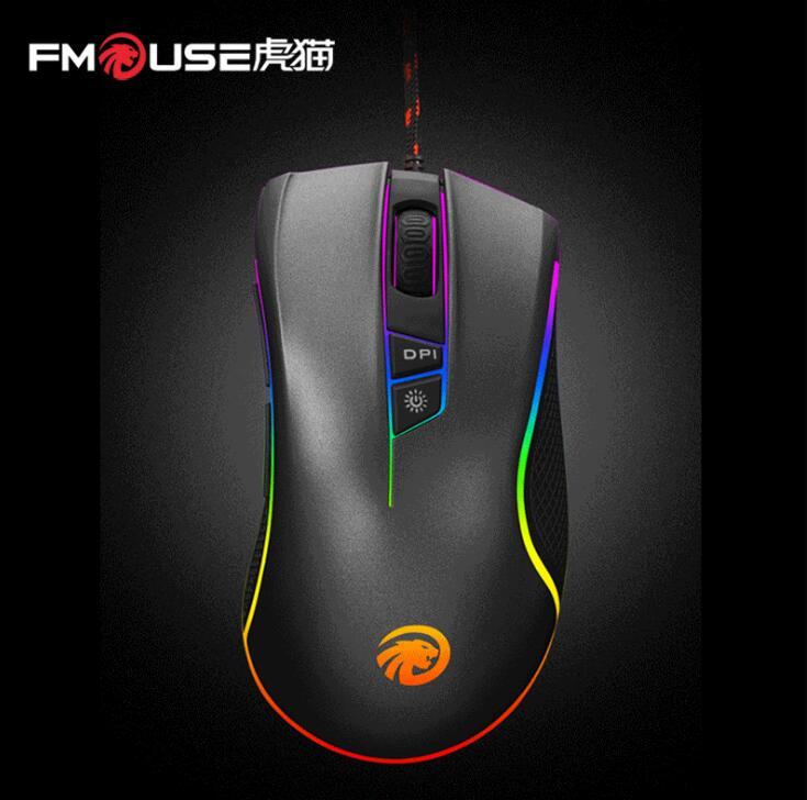 FMOUSE - Chuột vi tính F300 Gaming RGB