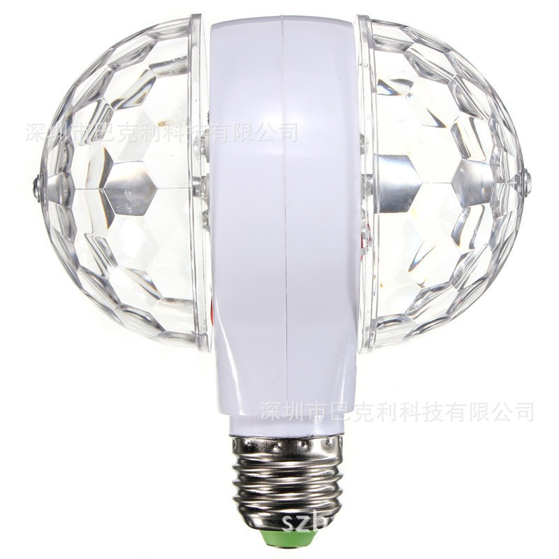 Barco Đèn sân khấu LED Magic Ball E27 Bóng đèn sân khấu Ánh sáng Ánh sáng Xoay đầy màu sắc Thanh ánh