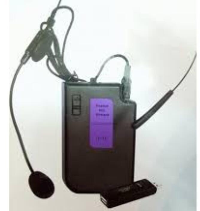 Micro V11 Cài Tai Không Dây Tiện Dụng Dành Cho Giáo Viên/ Bán Hàng..
