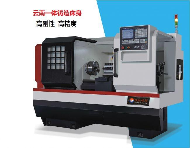 XUNYU Máy tiện CNC [máy tiện] nhà máy trực tiếp Đài Loan Xu Wei Máy tiện CNC CK6140 Máy tiện CNC chí
