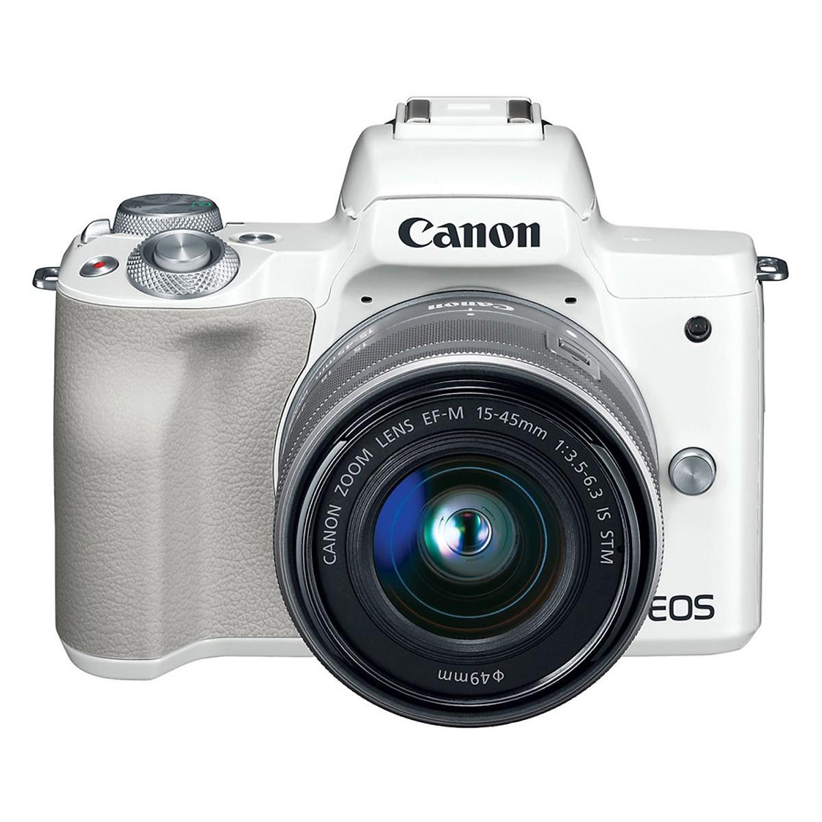 Canon   Máy ảnh kỹ thuật số   Máy Ảnh Canon EOS M50 + Kit 15-45mm
