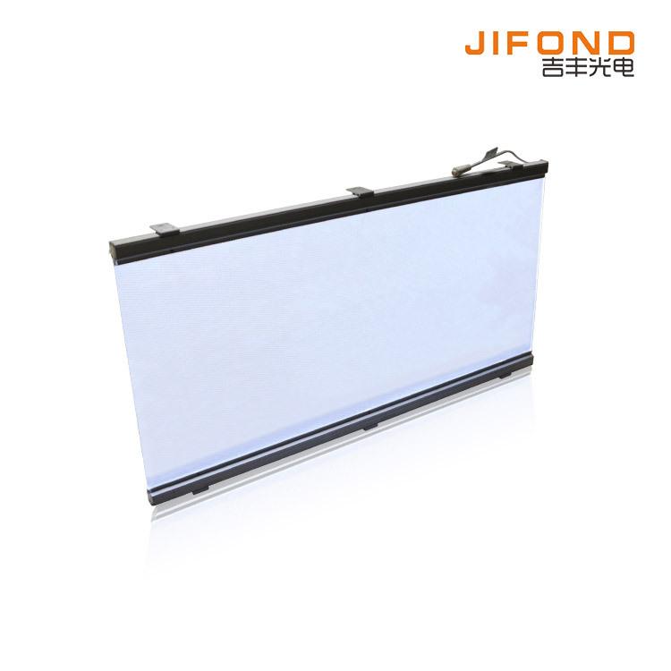 JIFOND Tấm dẫn sáng Nhà sản xuất bán buôn led acrylic ánh sáng hướng dẫn rèm tường đèn siêu mỏng tro