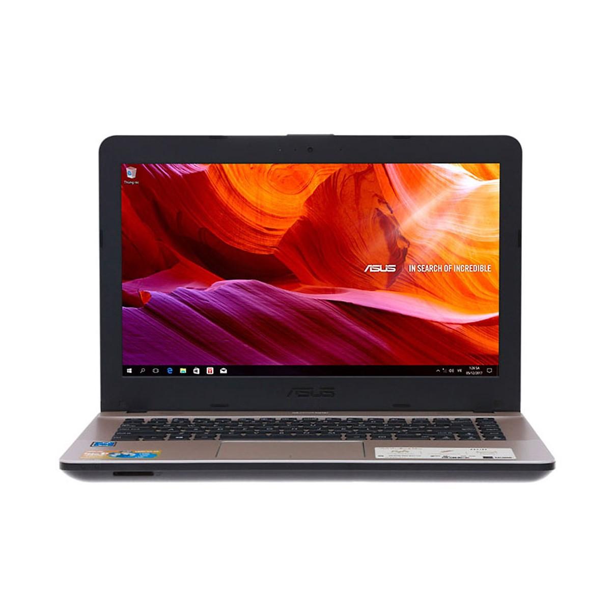 Asus   Máy tính xách tay - Laptop    Laptop ASUS X441MA-GA024T. Intel pentium N5000 (14inch) - Hàng