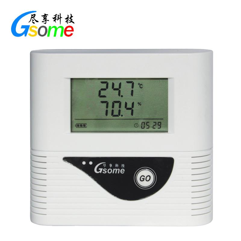 Gsome Đồng hồ đo nhiệt độ , độ ẩm Nhiệt độ và độ ẩm ghi dữ liệu tập tin phòng kho dược phẩm RD-TH210