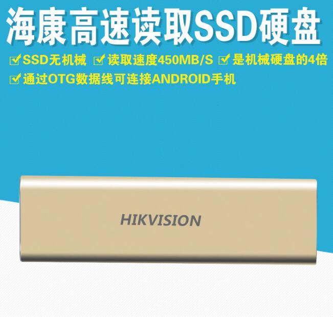 HIKVISION Ổ cứng di động HS-ESSD-T100N 120G SSD