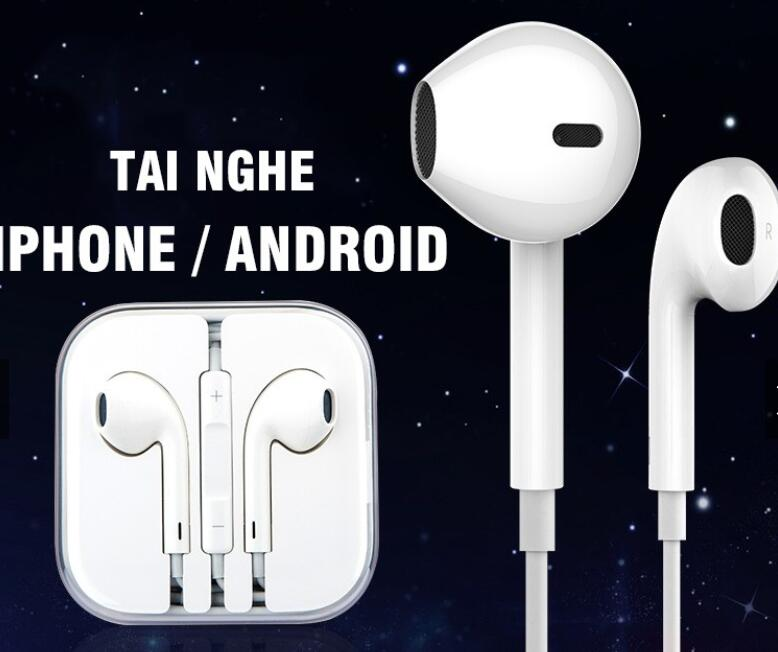 TAI NGHE CHO IPHONE ANDROID 3.5MM UNIVERSAL P1064