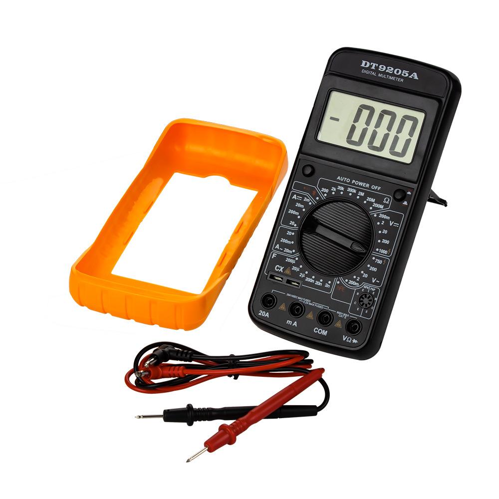 Đồng hồ đo điện Đồng hồ vạn năng chuyên dụng kỹ thuật số vạn năng xuyên biên giới DT9205A