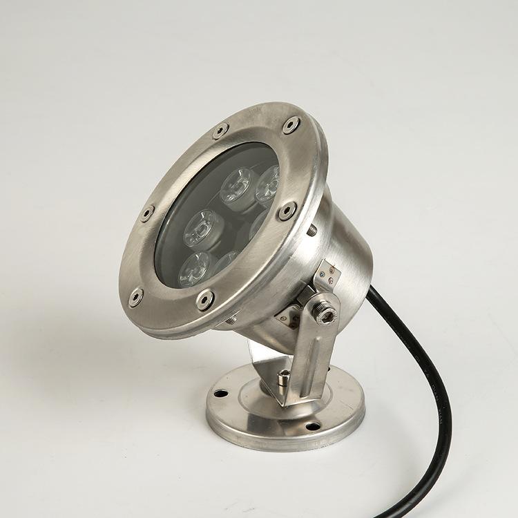 GUANGZHIYA Đèn LED âm nước Led đài phun nước đèn dưới nước đèn hồ bơi đèn nước sân vườn led đầy màu