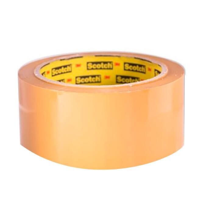 Băng keo đóng thùng Cuộn Băng Keo Đục Đóng Thùng Scotch 47mm X 50m X 0.043mm - OPP Tan Tape
