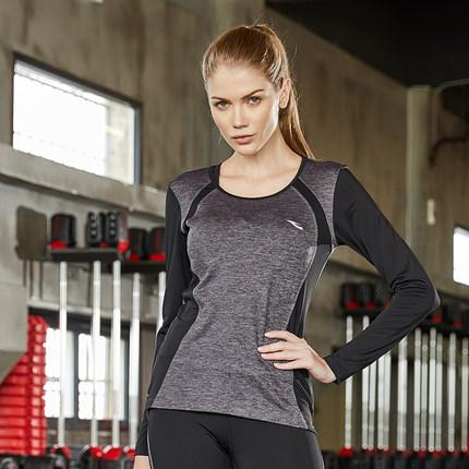 Thị trường bảo hộ lao động  Hosa Áo thun thể thao Hosa hosa dành cho nữ kéo dài tập thể dục dài tay